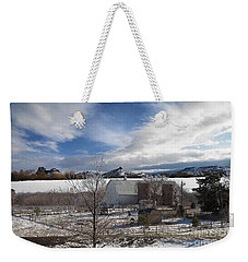 Weekender Tote Bag featuring the photograph Trip To Baldwin City Kansas by Liane Wright