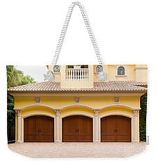 Triple Garage Doors Weekender Tote Bag