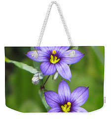 Triple Purple Weekender Tote Bag