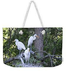 Triplets Weekender Tote Bag by Judith Morris