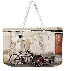 Trishaw Weekender Tote Bag