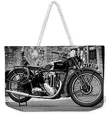 Triumph De Luxe 1939 Weekender Tote Bag by Mark Rogan