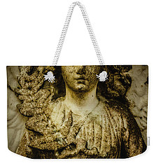 Weekender Tote Bag featuring the photograph Triumph by Jessica Brawley