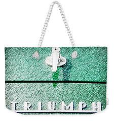 Triumph Weekender Tote Bag by Karyn Robinson
