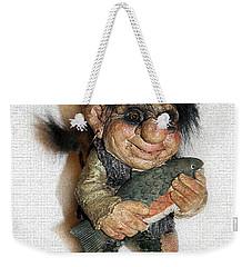 Troll Fisherman Weekender Tote Bag by Sergey Lukashin