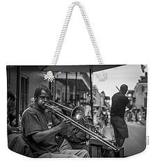 Trombone In New Orleans 2 Weekender Tote Bag