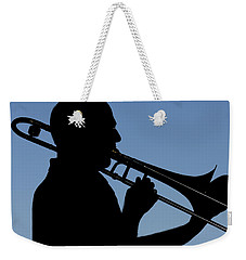 Trombone Player Weekender Tote Bag