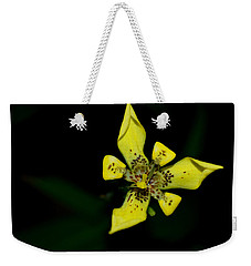 Tropic Yellow Weekender Tote Bag by Miguel Winterpacht