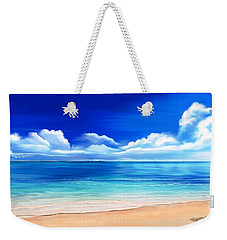 Tropical Blue Weekender Tote Bag by Anthony Fishburne