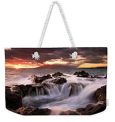 Tropical Cauldron Weekender Tote Bag