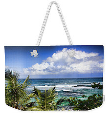 Weekender Tote Bag featuring the photograph Tropical Dreams by Daniel Sheldon