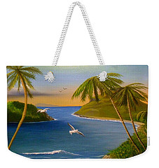 Tropical Escape Weekender Tote Bag by Sheri Keith