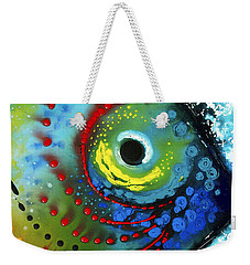 Tropical Fish - Art By Sharon Cummings Weekender Tote Bag by Sharon Cummings