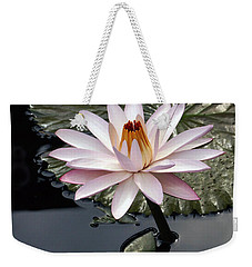 Tropical Floral Elegance Weekender Tote Bag by Byron Varvarigos