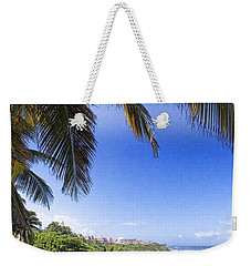 Weekender Tote Bag featuring the photograph Tropical Holiday by Daniel Sheldon