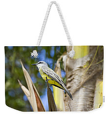 Tropical Kingbird Weekender Tote Bag by Teresa Zieba