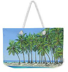 Tropical Lagoon Weekender Tote Bag