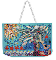 tropical landscapes - On the Edge of the Yucatan Weekender Tote Bag