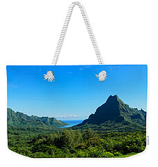 Tropical Moorea Panorama Weekender Tote Bag