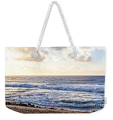 Weekender Tote Bag featuring the photograph Tropical Morning  by Roselynne Broussard