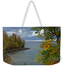 Tropical Mountain Ash Weekender Tote Bag by James Peterson