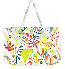 Tropical Weekender Tote Bag by Nic Squirrell