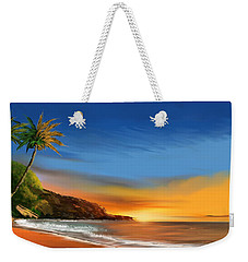 Tropical Paradise Weekender Tote Bag by Anthony Fishburne