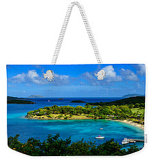 Weekender Tote Bag featuring the photograph Tropical Paradise In The Virgin Islands by Greg Norrell