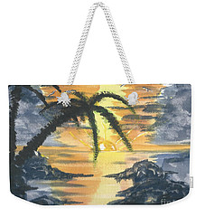 Tropical Sun Weekender Tote Bag