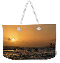 Tropical Sunset In Kauai Weekender Tote Bag by P S