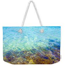 Weekender Tote Bag featuring the digital art Tropical Treasures by Anthony Fishburne