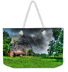 Trouble Brewing Weekender Tote Bag