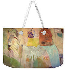 Trouble On The Home Front Weekender Tote Bag