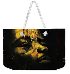 Troubled  Africa Weekender Tote Bag