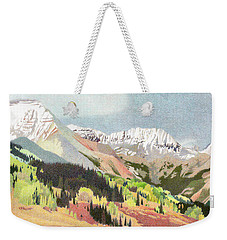 Trout Lake Colorado Weekender Tote Bag by Dan Miller