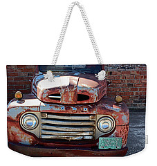 Ford In Goodland Weekender Tote Bag by Lynn Sprowl