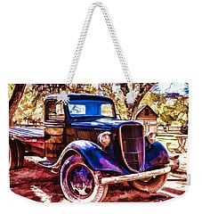 Truck Weekender Tote Bag