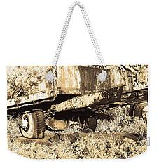 Truck Wreckage II Weekender Tote Bag