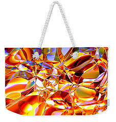 Weekender Tote Bag featuring the digital art True Brilliance by Andreas Thust