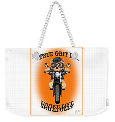 True Grit Weekender Tote Bag by Jerry Ruffin