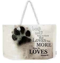 True Love - By Sharon Cummings Words By Billings Weekender Tote Bag