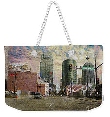 Weekender Tote Bag featuring the photograph Truman Road Kansas City Missouri by Liane Wright