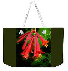 Wild Trumpet Honeysuckle Weekender Tote Bag