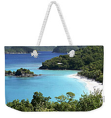 Weekender Tote Bag featuring the photograph Trunk Bay II by Carol  Bradley