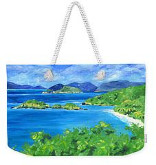 Trunk Bay Weekender Tote Bag