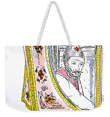 Tsar In Carriage Weekender Tote Bag
