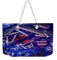 Tsunami Weekender Tote Bag by Dick Bourgault