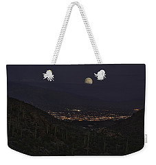 Tucson At Dusk Weekender Tote Bag