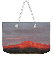 Weekender Tote Bag featuring the photograph Tucson Mountains by David S Reynolds