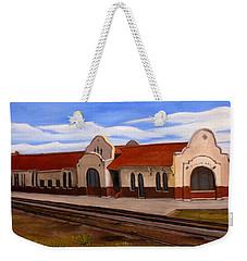 Tucumcari Train Depot Weekender Tote Bag